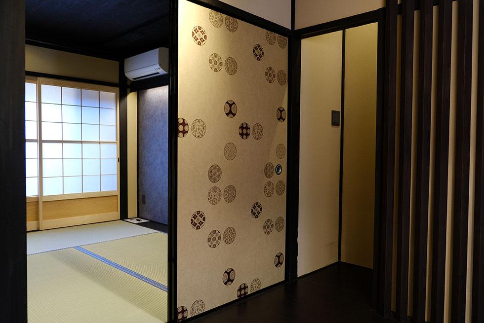 二条城西ノ京 町家 改修
