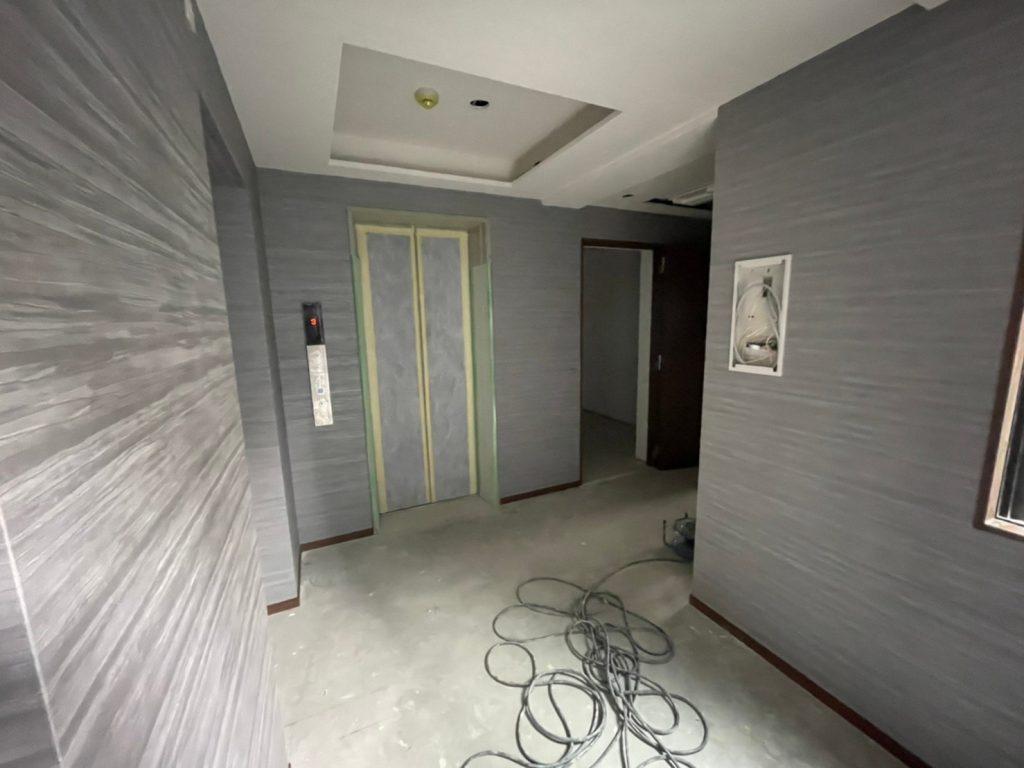 下京区のRC新築工事 現在進行中