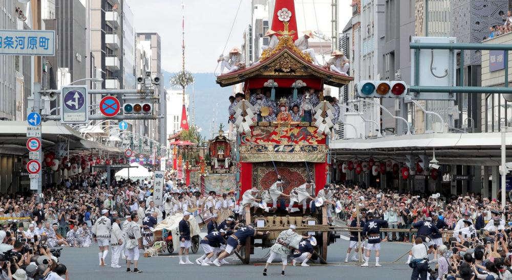 祇園祭の山鉾巡行中止