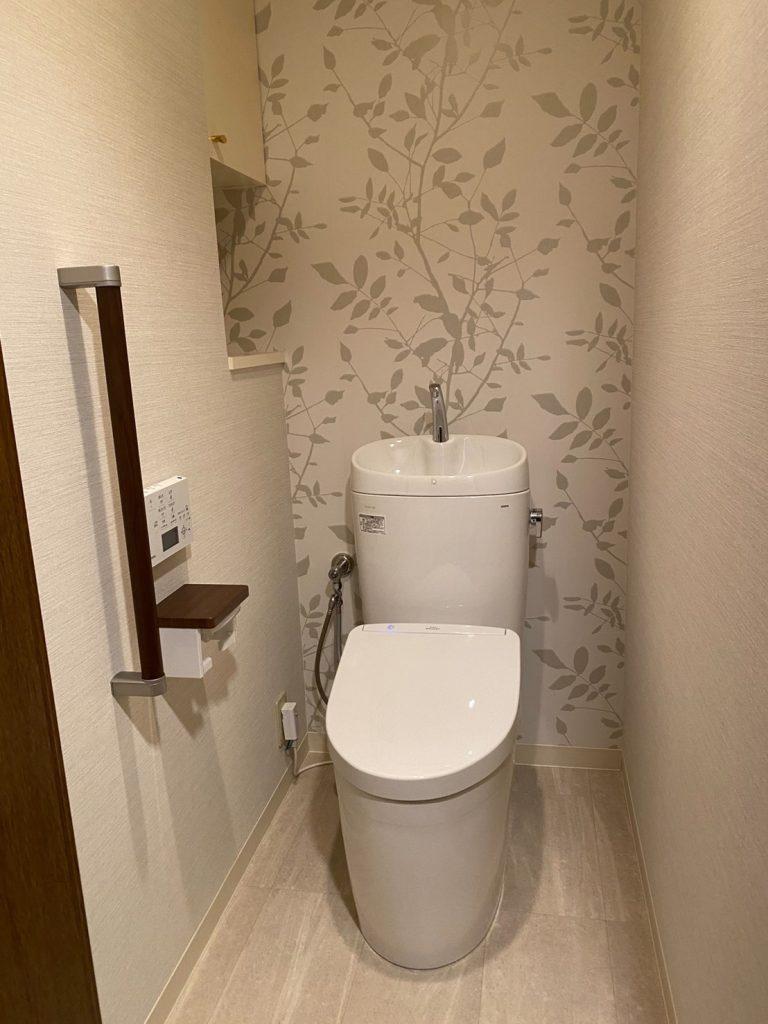 堀川今出川住宅のトイレ改修