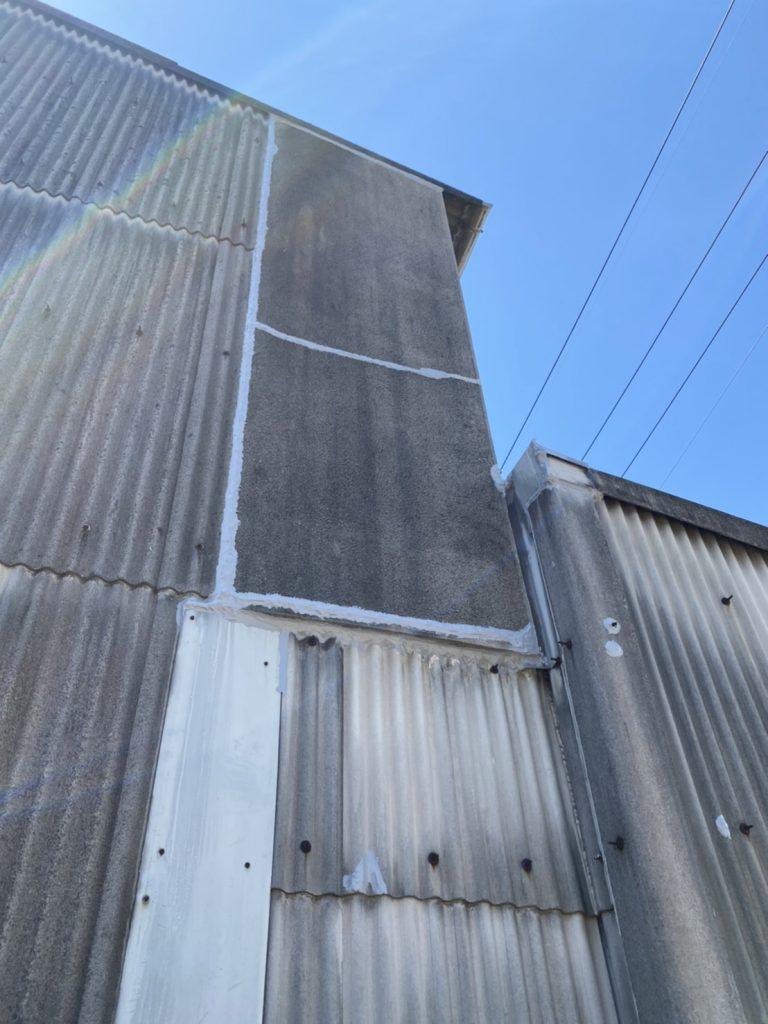 工場雨漏れ補修工事