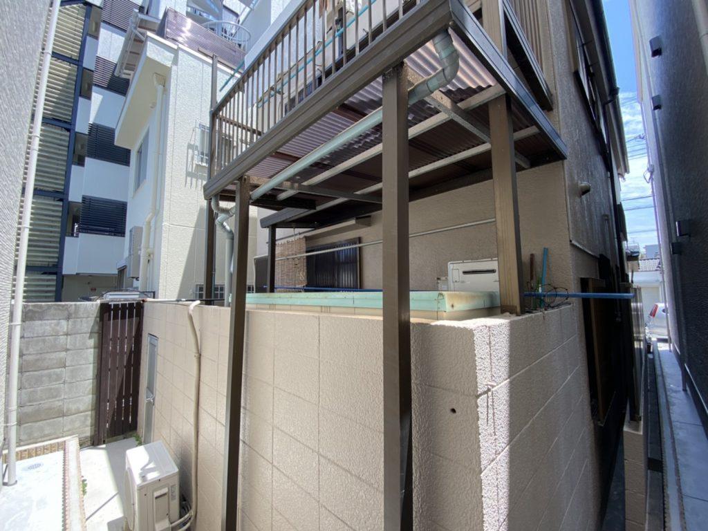 大阪住宅 忍び返し設置